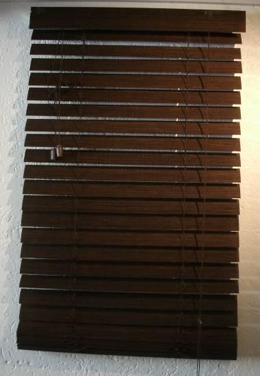 bambus jalousie jalousette rollo braun 80 x 150 cm ebay. Black Bedroom Furniture Sets. Home Design Ideas
