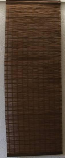 Bambus fl chengardine schiebevorhang paneelenvorhang braun for Bambus schiebevorhang